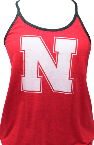 Nebraska Women's Reversible Tank