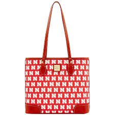 Nebraska Dooney & Bourke Richmond Red Tote Bag