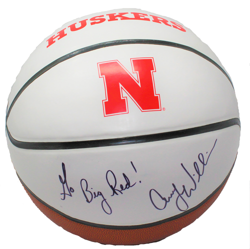 Nebraska Coach Williams Signed Womens Basketball