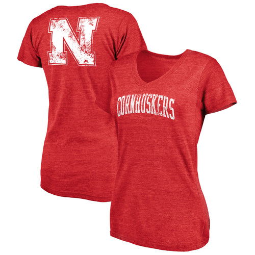 Nebraska Women's Slab Sherif V-Neck