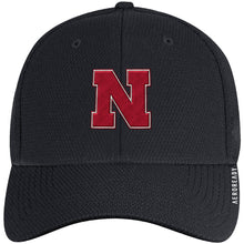 Load image into Gallery viewer, Nebraska Men's Adidas Sideline Coach AEROREADY Sized Hat