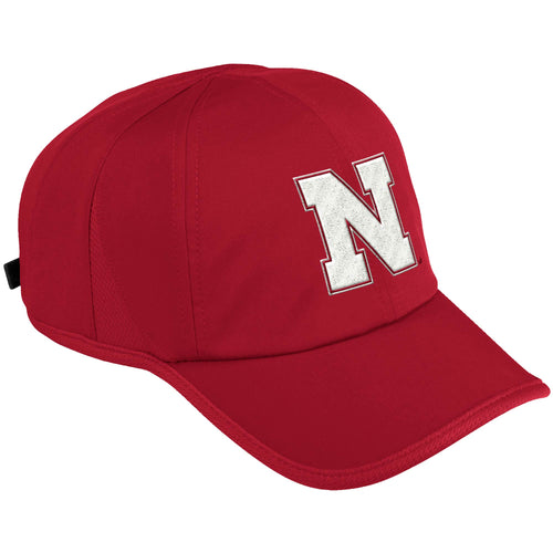 Nebraska Mens Adidas Superlite Adjustable hat