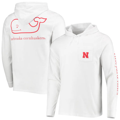 Nebraska Men's Campus Long Sleeve Hood