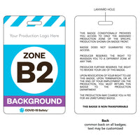 "Access Badge, Zone B2, Background [10pc] (2.125""x3.375"")"
