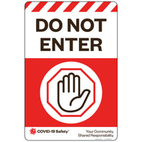 "Do Not Enter (Generic) (12""x18"")"