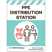 "PPE Distribution Station (18""x24"")"