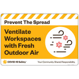 "PTS Ventilate Workspaces with Fresh Outdoor Air (24""x16"")"