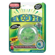Yoyo Duncan lumineux Lime light