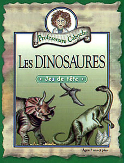 Prof Caboche Dinosaures