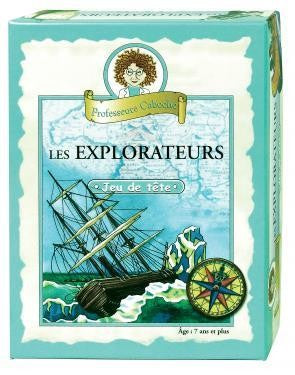 Prof Caboche Les Explorateurs
