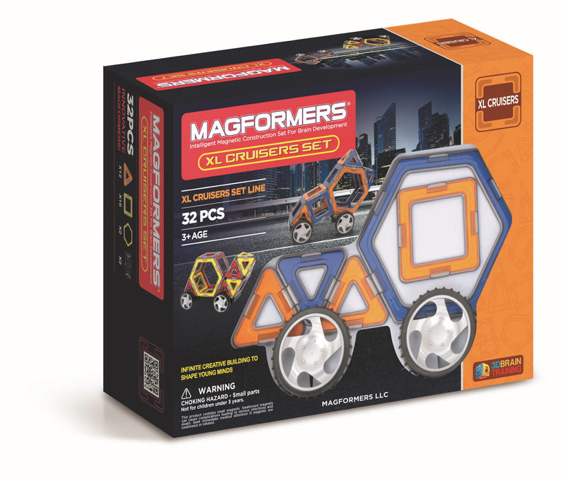 Ensemble Magformers XL cruiser set