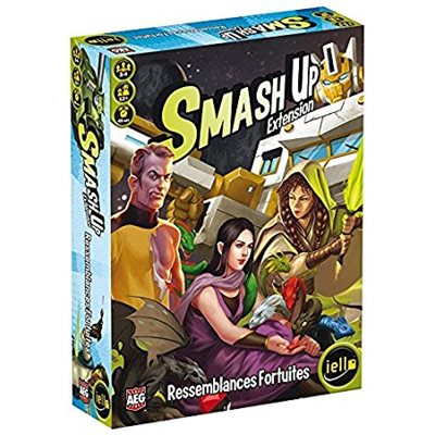 Smash Up : Ressemblances Fortuites !
