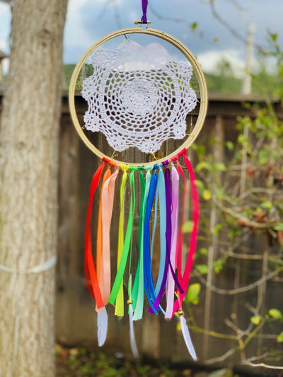 Rainbow Dream Catcher Kit