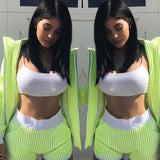 2020 New Fashion Women Sexy Crop Tops Solid for Summer - For Women USA