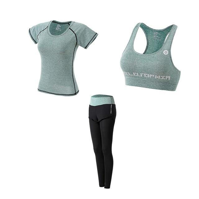 5 Piece Fitness and Yoga Set For Women - Shop women fashion clothing, Fragrances & skin, perfumes, shoes & accessories online !
