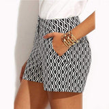 Bigsweety New Fashion Plaid Shorts for Woman - Shop women fashion clothing, Fragrances & skin, perfumes, shoes & accessories online !