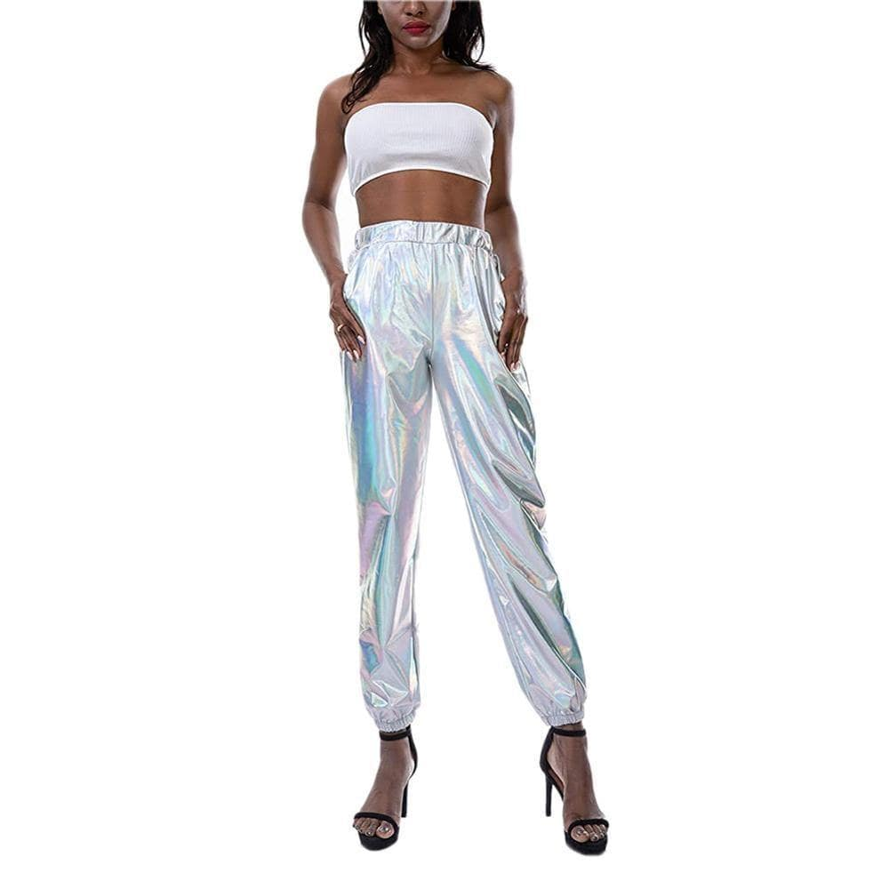 Brand New Women Casual Fashion High Waist Hip Hop Pants - Shop women fashion clothing, Fragrances & skin, perfumes, shoes & accessories online !