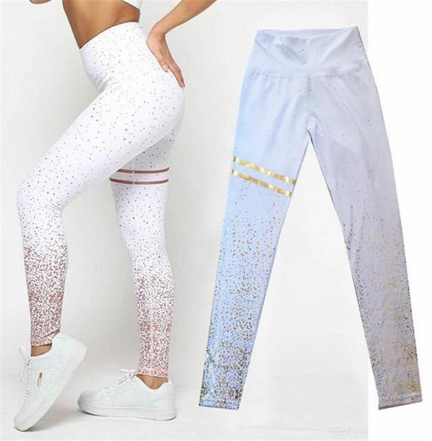 Patchwork fitnessYoga Set Sport Fitness Women Pants Leggings Push Up Yoga Pants Summer Sportswear - Shop women fashion clothing, Fragrances & skin, perfumes, shoes & accessories online !
