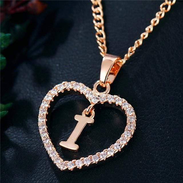 Romantic Love Pendant Necklace For Girls - Shop women fashion clothing, Fragrances & skin, perfumes, shoes & accessories online !