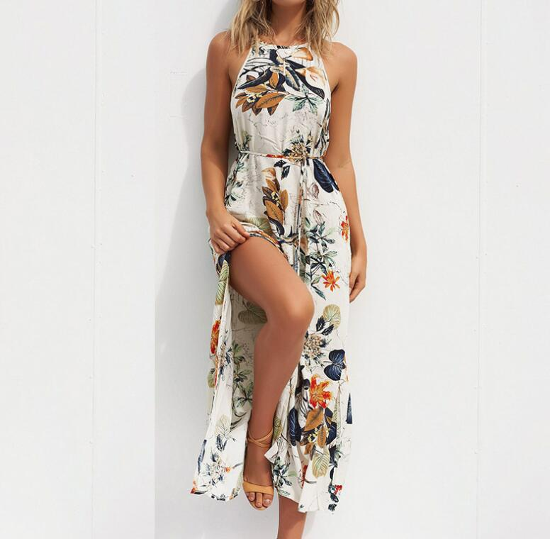 Summer Bench Maxi Dress With Floral Print For Women - Shop women fashion clothing, Fragrances & skin, perfumes, shoes & accessories online !