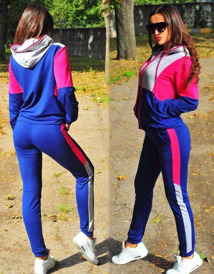 Sweat-suits Sporty Casual Outfit Set for Women