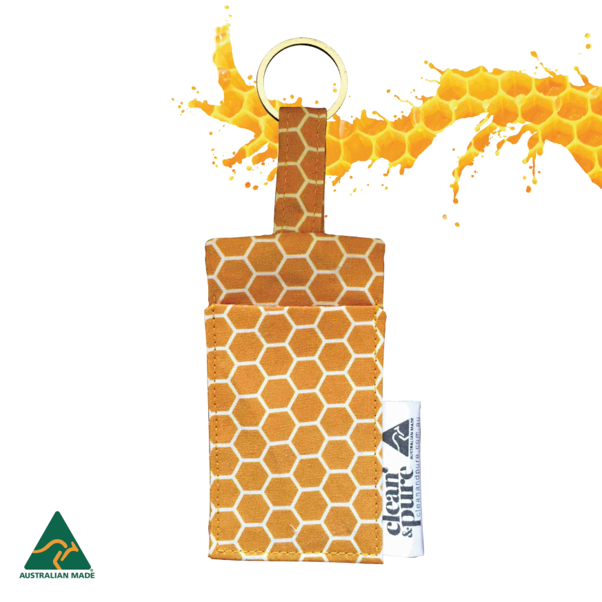Lip Balm Pouch - Honeycomb