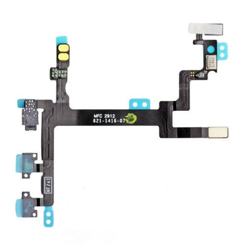 Power Flex Cable Volume Buttons & Mute Switch For iPhone 5 - FormyFone.com