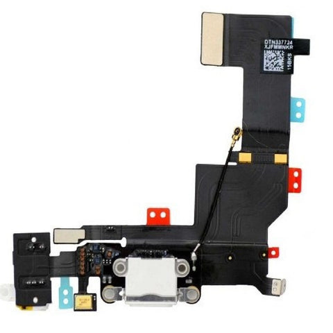Replacement White Dock Connector - Headphone Jack - Cellular Antenna Assembly For iPhone 5S - FormyFone.com