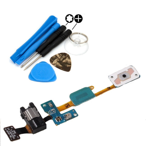 For Samsung Galaxy J5 Prime Home Button Flex Cable With Headphone Jack