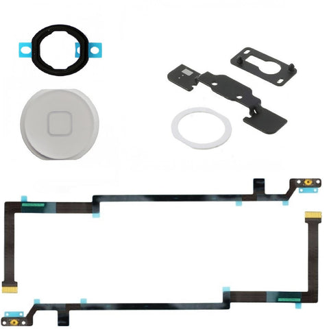 White Home Button Replacement Kit for iPad Air - FormyFone.com  - 1