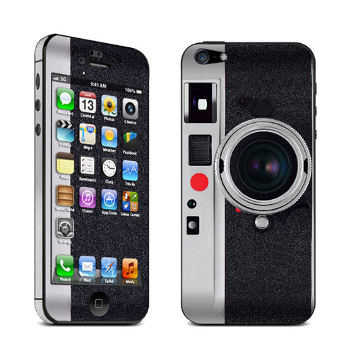 Retro Camera Vinyl Skin Sticker For iPhone 5 & 5S