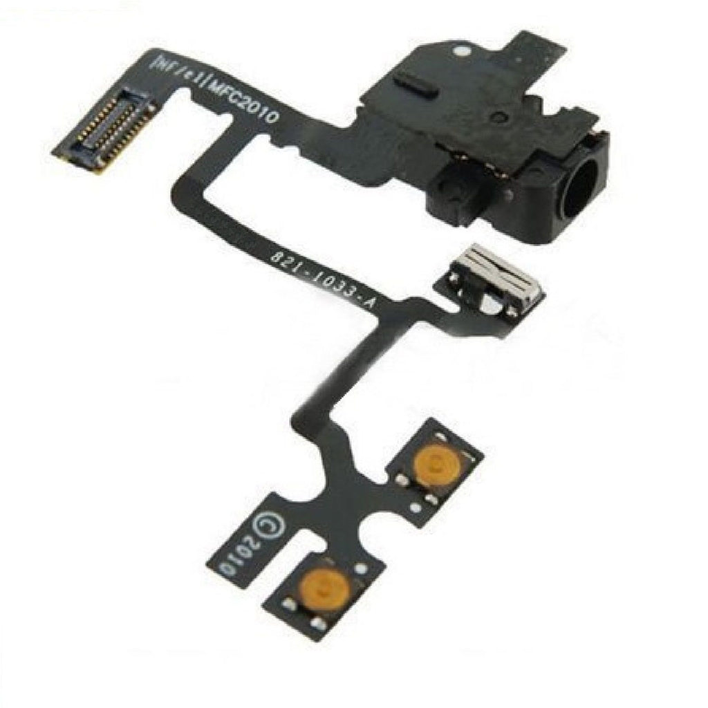 Replacement iPhone 4 Headphone Jack - Volume Buttons - Mute Switch - FormyFone.com  - 1