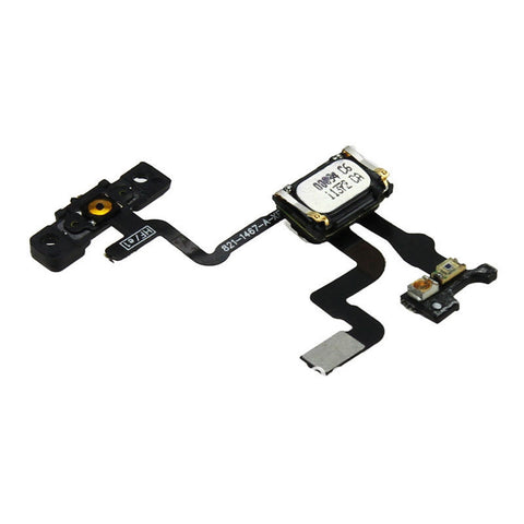 Power Button Flex Cable With Bracket, Ear Speaker & Proximity Sensor For iPhone 4S - FormyFone.com  - 1