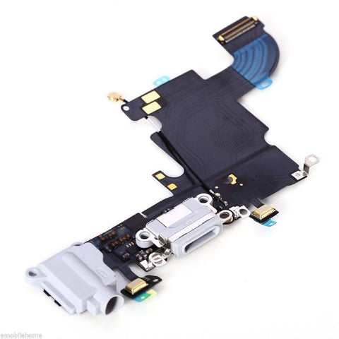 White Dock Connector Headphone Jack Replacement Unit For iPhone 6S - FormyFone.com  - 1
