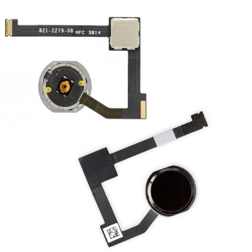 For iPad Air 2 iPad 6 Home Button Touch ID Flex Cable Replacement White Repair