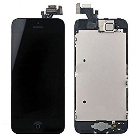 Black LCD Touch Screen Digitizer Assembly for iPhone 5 - FormyFone.com  - 1