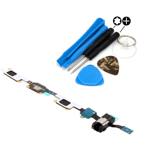 For Samsung Galaxy J7 Home Button Flex Cable With Headphone Jack J710F