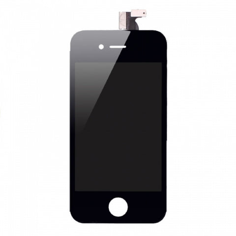 Black Replacement Digitizer & LCD Screen for iPhone 4 - FormyFone.com  - 1