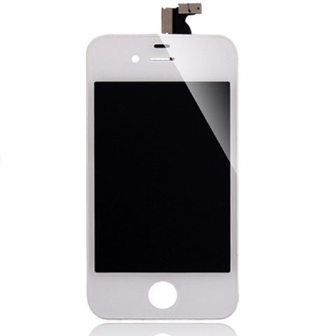 White Replacement Digitizer & LCD Screen for iPhone 4 - FormyFone.com  - 1