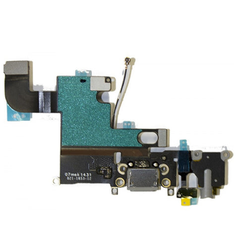 Grey Dock Connector Headphone Jack Replacement for iPhone 6 - FormyFone.com  - 1