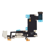 White Dock Connector Audio Jack Flex Cable Replacement for iPhone 6S Plus - FormyFone.com  - 1