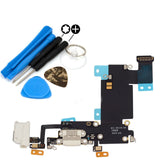 White Dock Connector Audio Jack Flex Cable Replacement for iPhone 6S Plus - FormyFone.com  - 2