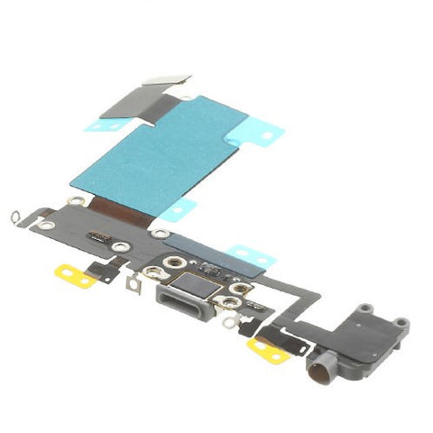 Gray Dock Connector Audio Jack Flex Cable Replacement for iPhone 6S Plus - FormyFone.com  - 1