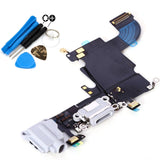 White Dock Connector Headphone Jack Replacement Unit For iPhone 6S - FormyFone.com  - 2