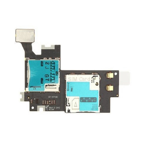 Sim Card Reader Unit for Samsung Galaxy Note 2