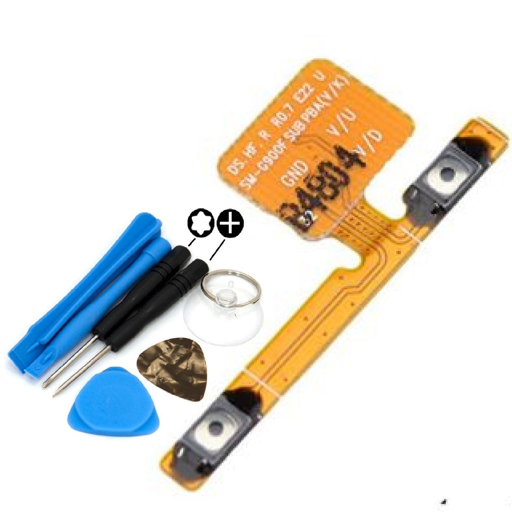 For Samsung Galaxy S5 Volume Flex Cable Replacement