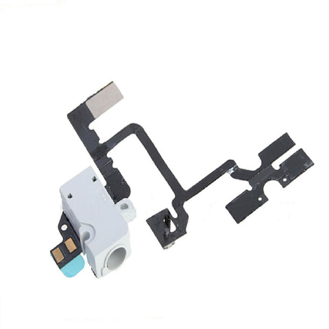 Replacement White iPhone 4 Headphone Jack - Volume Buttons - Mute Switch - FormyFone.com  - 1