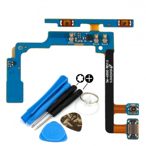 For Samsung Galaxy A3 Volume Flex Cable With Microphone Replacement A300