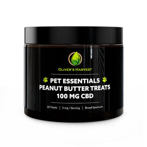 Pet Essentials Peanut Butter CBD Treats 100 MG