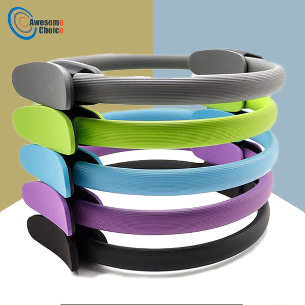 Yoga Pilates Ring Magic Wrap Slimming Body Fitness Training Heavy Duty 5 colors